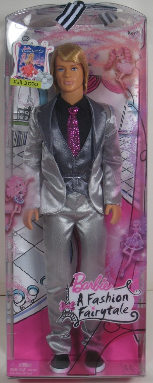 Barbie A Fashion Fairytale Ken Doll Brand New 2010 Ebay