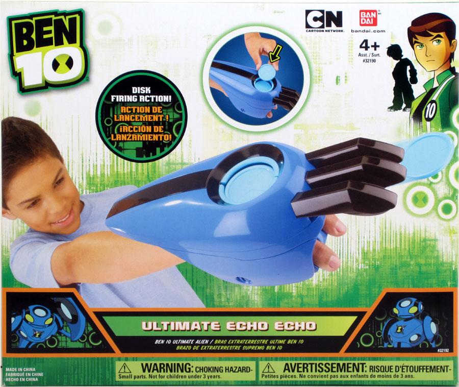 Bandai ben 10 ultimate alien arms ultimate echo echo