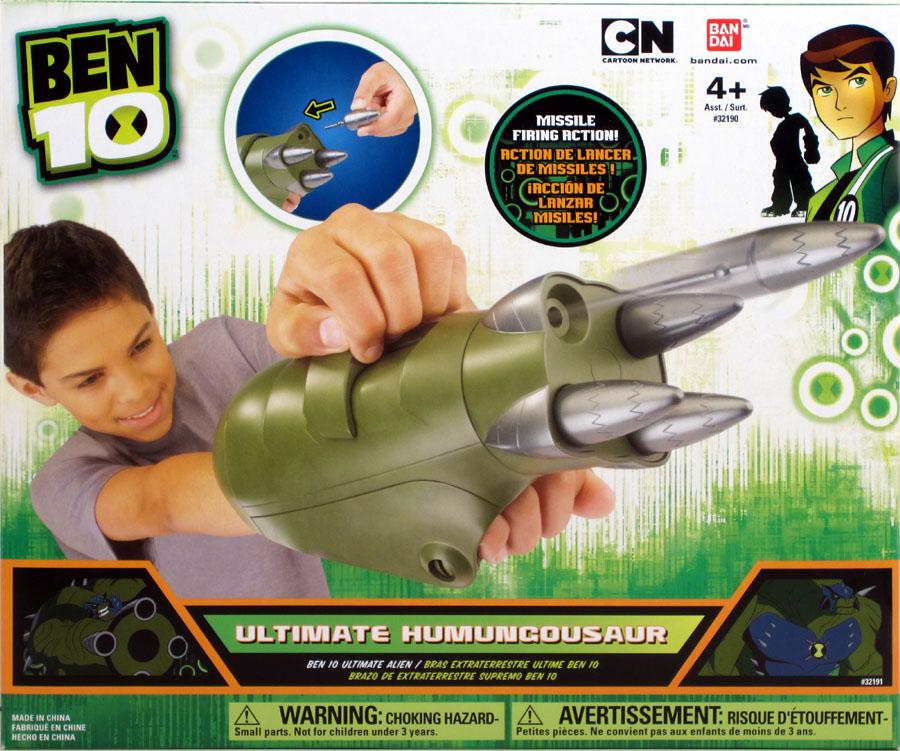 Bandai ben 10 ultimate alien arms ultimate humungousaur