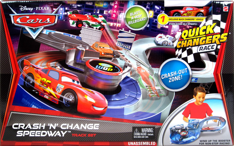 Cars  Quick Changers Race Track