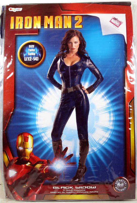 Iron Man 2 Black Widow Women/'s adult costume size Large