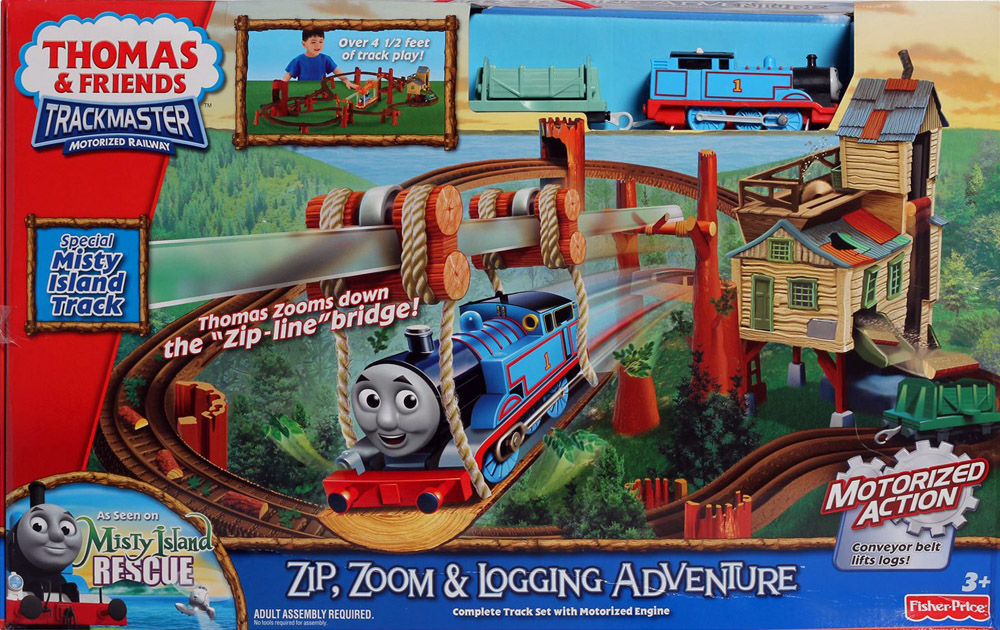 Master ZIP ZOOM LOGGING ADVENTURE Railway NEW代拍 海外代图片