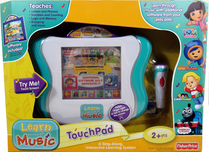 Fisher Price Learn Through Music TouchPad Review