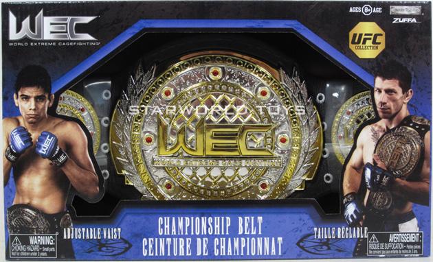 Details about  JAKKS Pacific World Extreme Cagefighting WEC Championship Toy Belt MMA