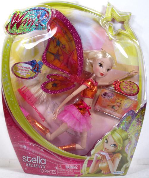Buy Winx Club Winx 11.5 Deluxe Fashion Doll Believix - Stella 58