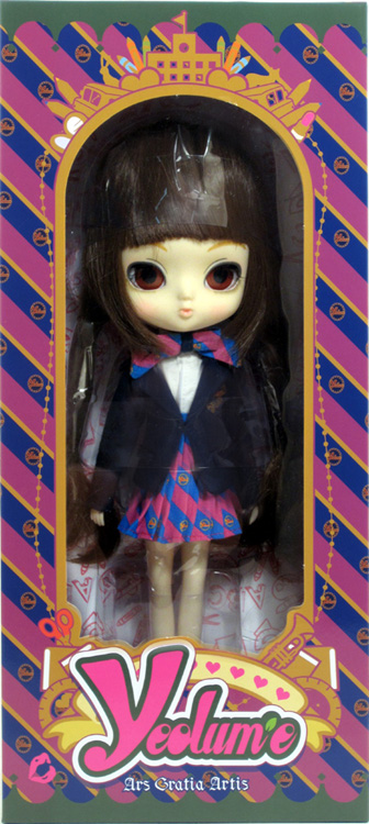 ars gratia artis doll ym 001 yeolume 10 nrfb pullip daughter groove podo school ebay. Black Bedroom Furniture Sets. Home Design Ideas