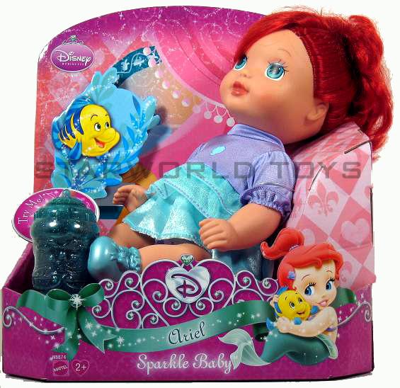 Disney Princess Sparkle Baby Cinderella Doll: DISNEY PRINCESS SPARKLE BABY
