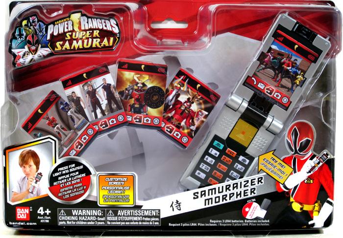 Power Rangers 2012 Samuraizer Morpher V2 31784 Red Ranger ...