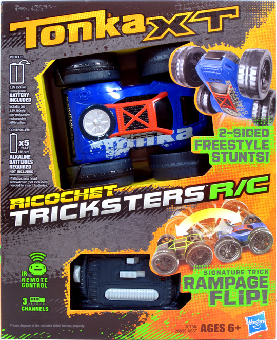 tonka remote control flip car instructions