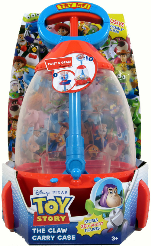 Case Of Toy Story Games : Toy story the claw carry case holds buddy figures